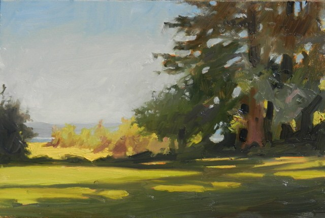 """Dosewalips Day Park day of plein air painting with Robin And Maury Weiss"" original fine art by Robin Weiss"