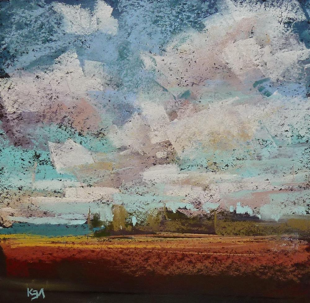 """Friday's Art Challenge: Change Your Horizon"" original fine art by Karen Margulis"