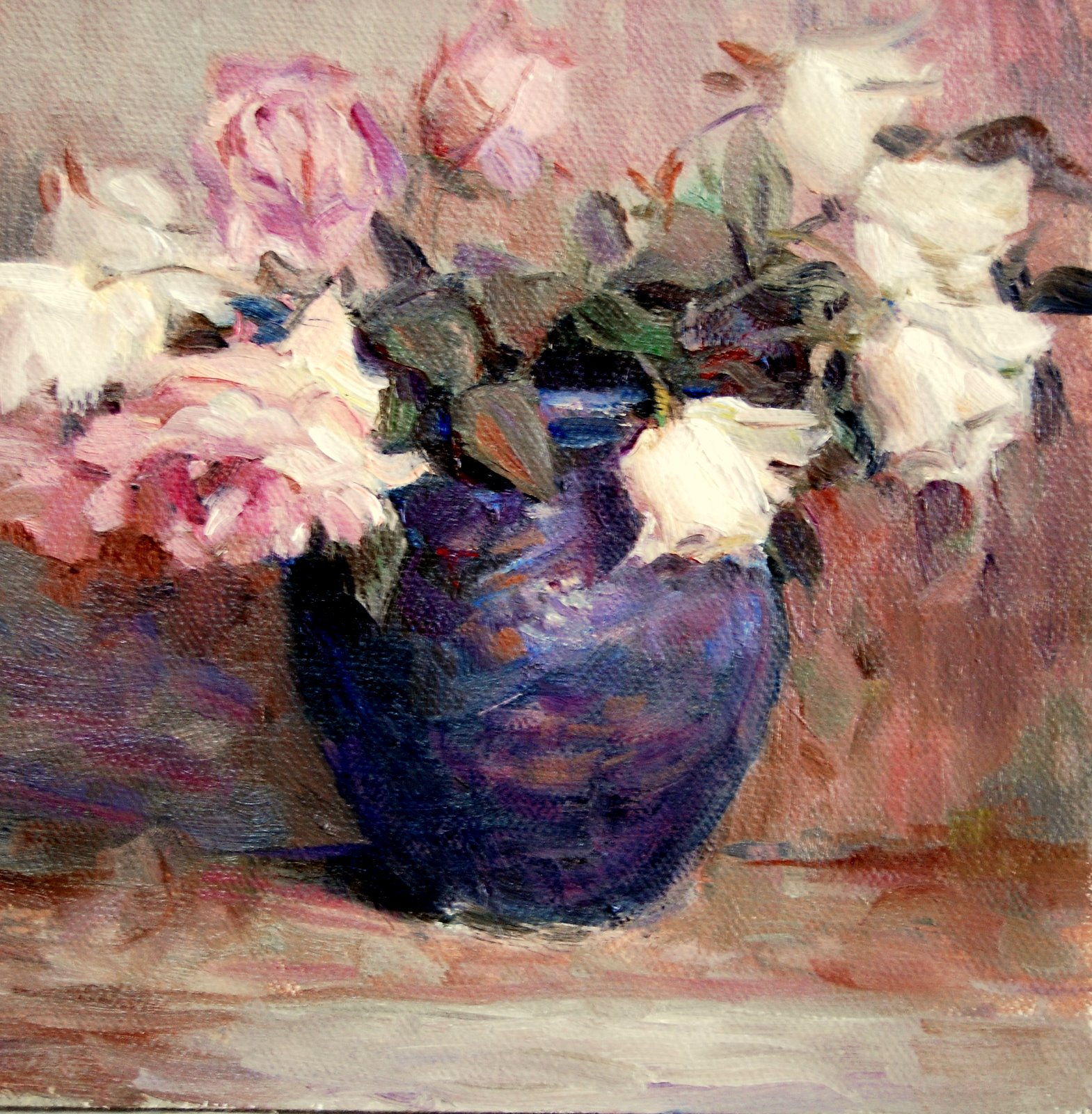 """Thayer Copy"" original fine art by Julie Ford Oliver"