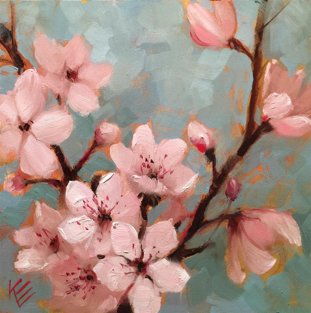 """Suddenly Springtime"" original fine art by Krista Eaton"