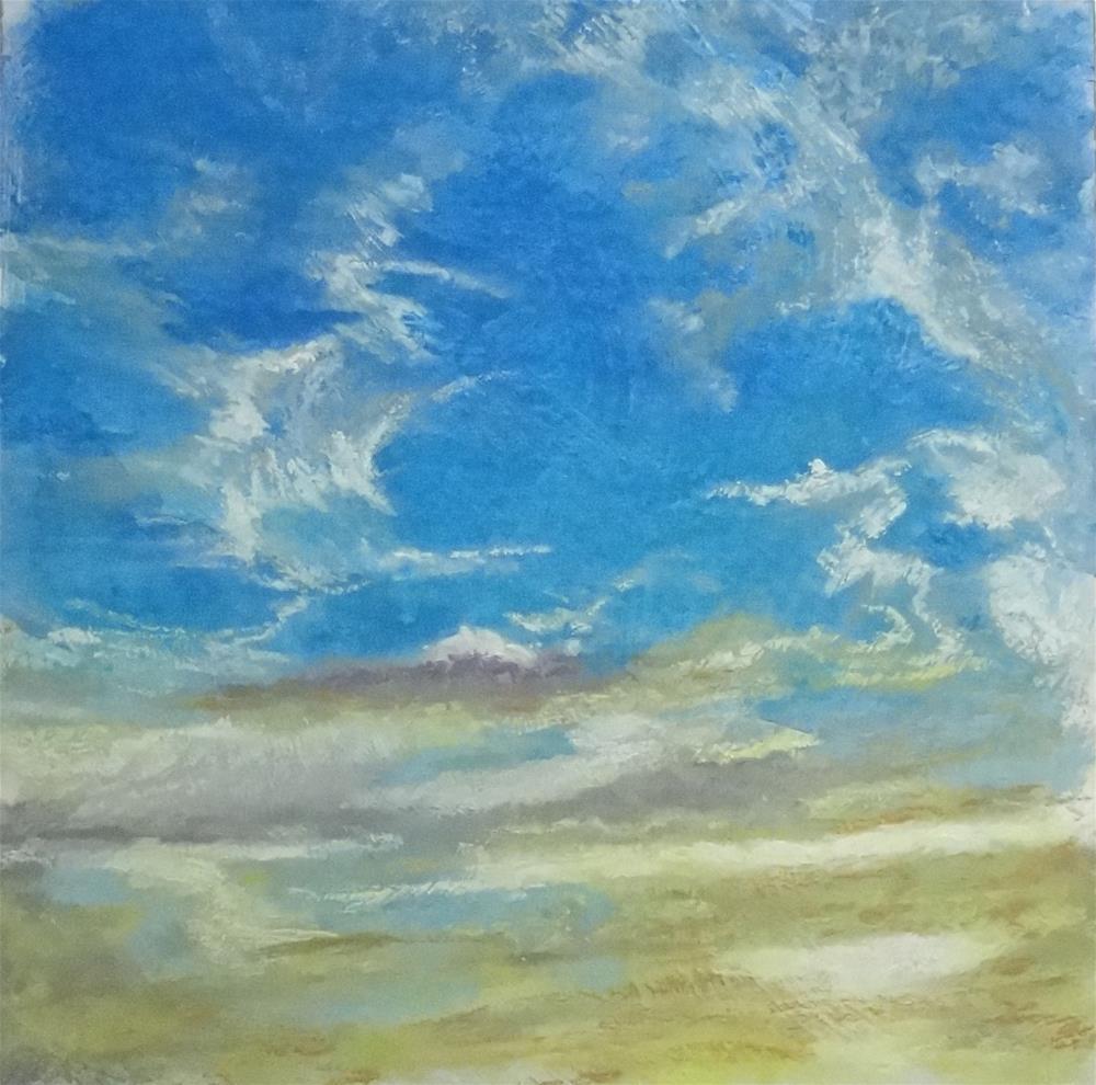 """Sky #9"" original fine art by Denise Beard"