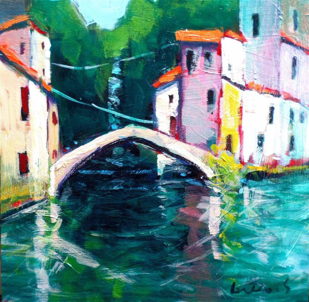 """litle piece of italy"" original fine art by salvatore greco"