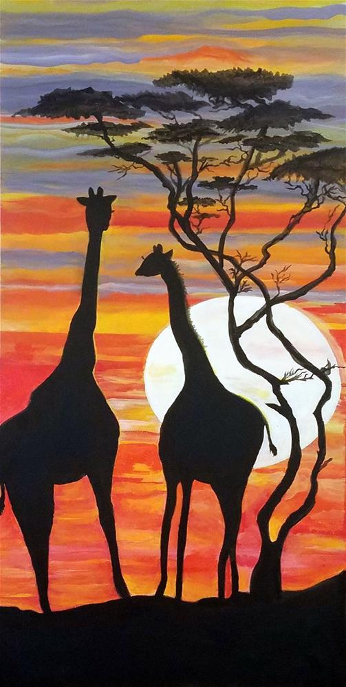 """Just The Two of US"" original fine art by Susan Belisle"