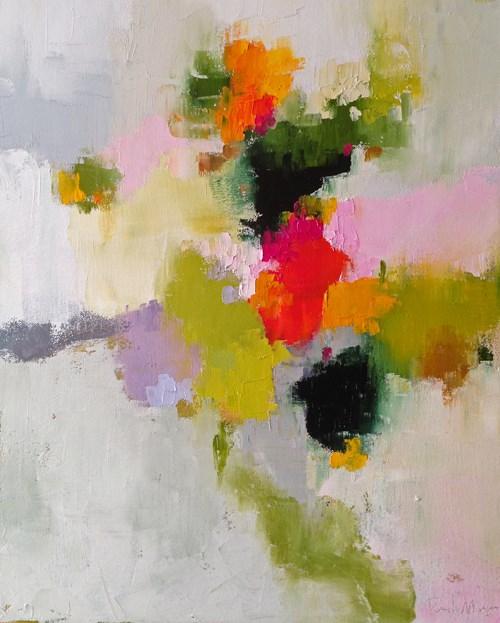 """""""pamela's garden II"""" original fine art by Pamela Munger"""