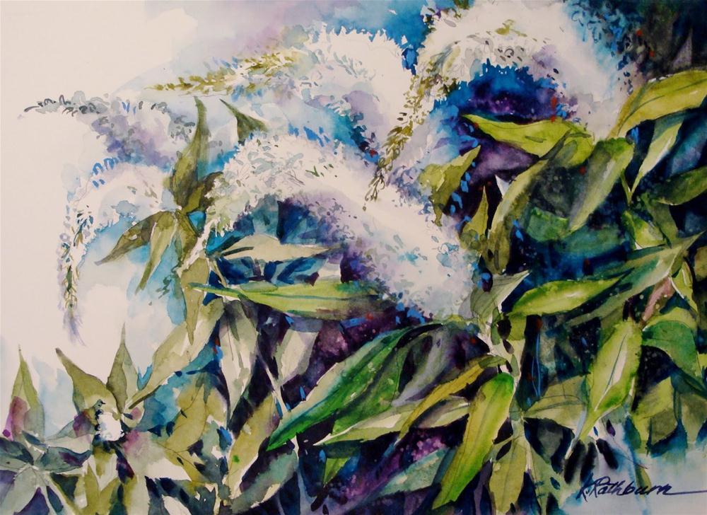 """Goose Necks"" original fine art by Kathy Los-Rathburn"