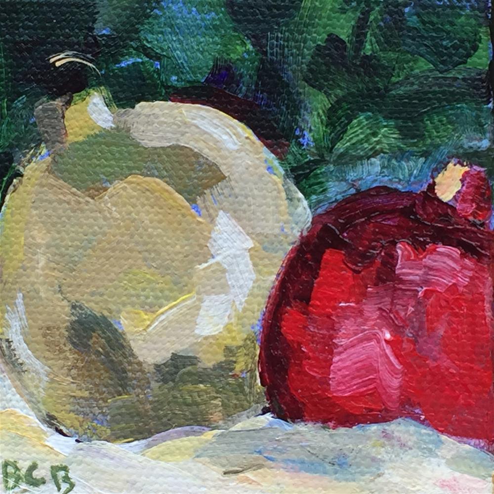 """Christmas Ornaments-1"" original fine art by Beth Carrington Brown"
