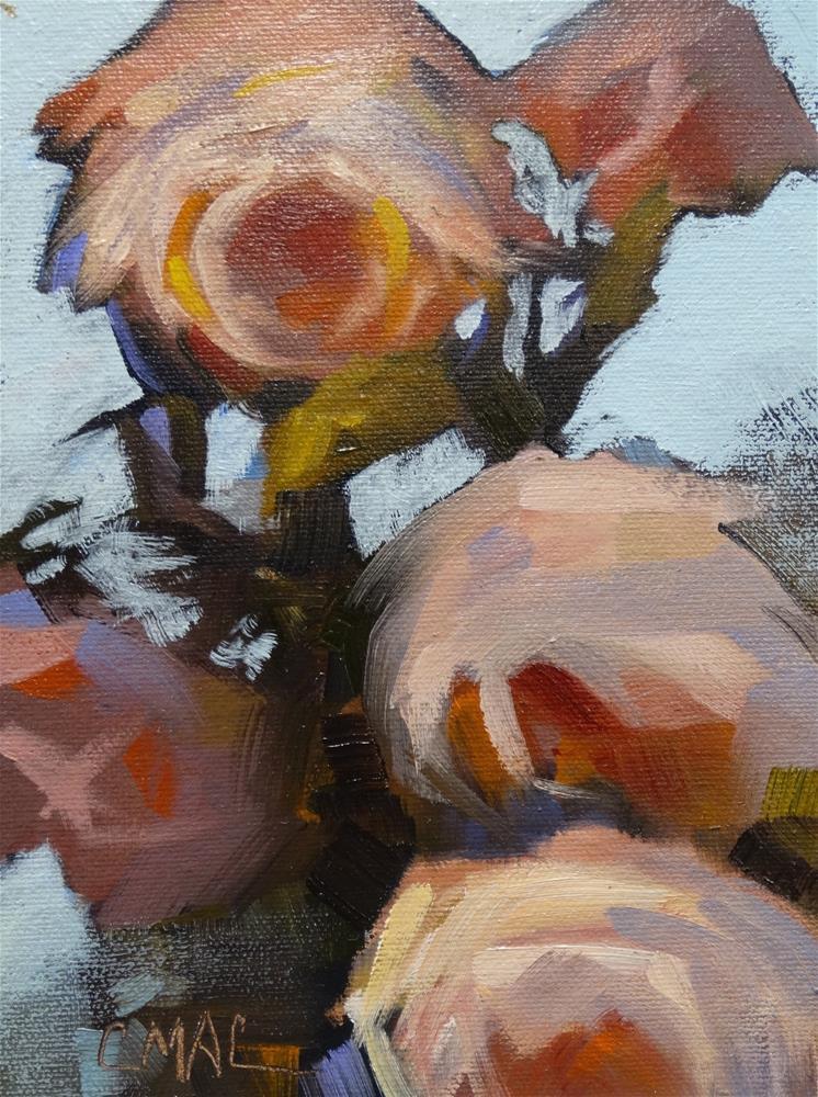 """Rose In Bloom"" original fine art by Carolyn McDonald"