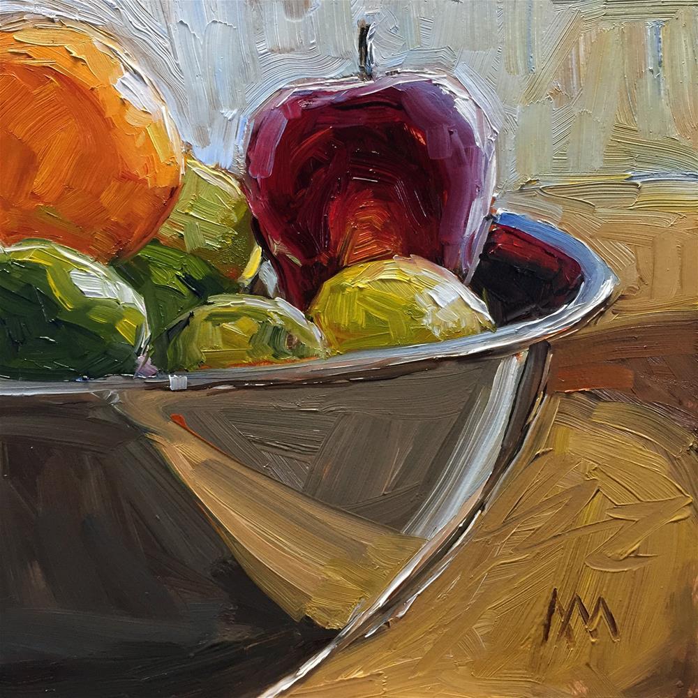 """Fruit Bowl"" original fine art by Austin Maloney"