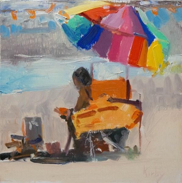 """Beach Tunes"" original fine art by Randall Cogburn"