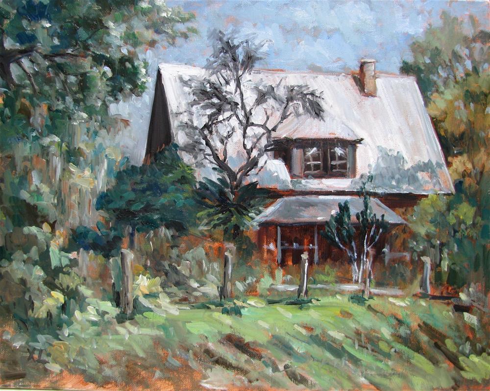 """The old farm house"" original fine art by Xiao Li"
