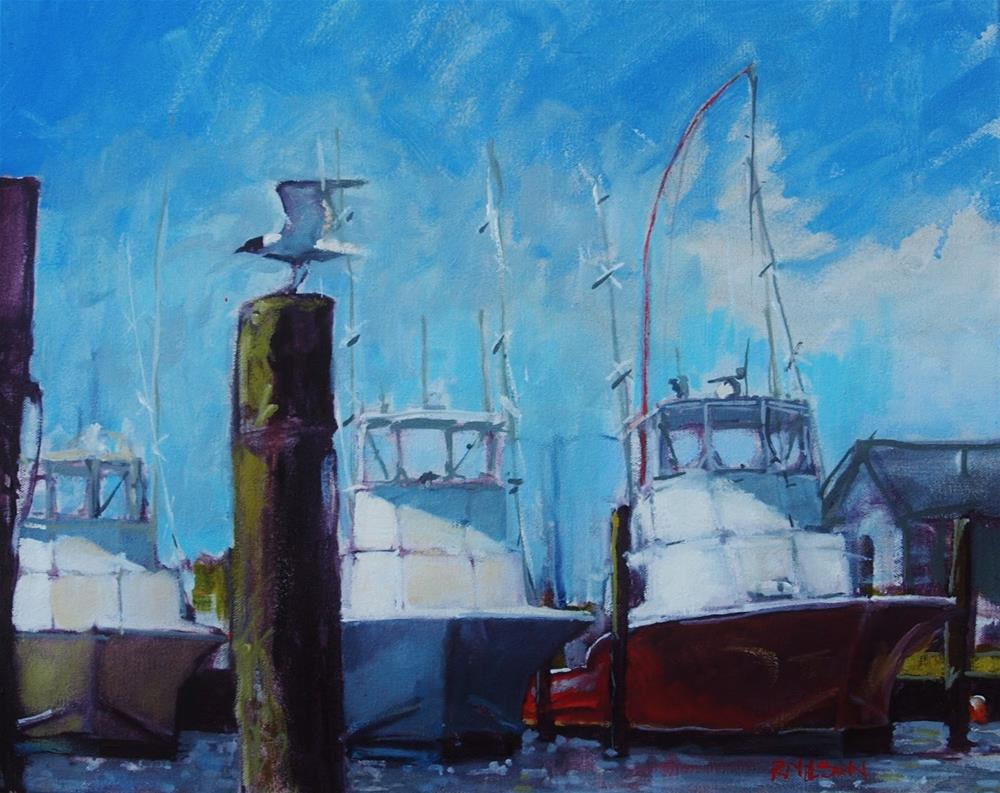 """Oregon Inlet"" original fine art by Rick Nilson"