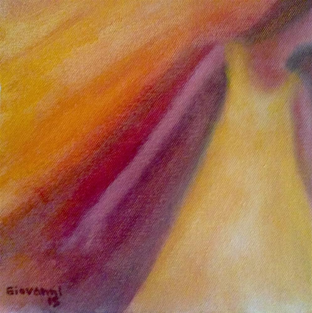 """Leaving"" original fine art by Giovanni Antunez"