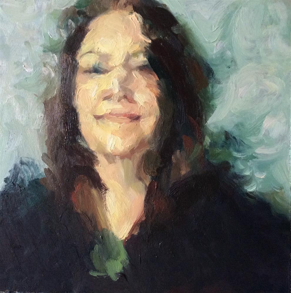 """Leanne"" original fine art by Paula Howson-Green"