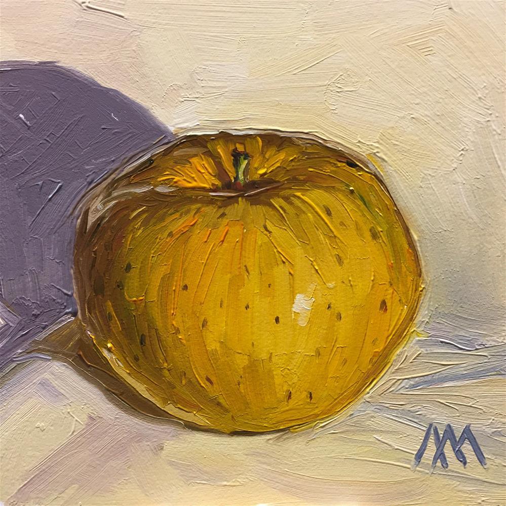 """Opal Apple"" original fine art by Austin Maloney"
