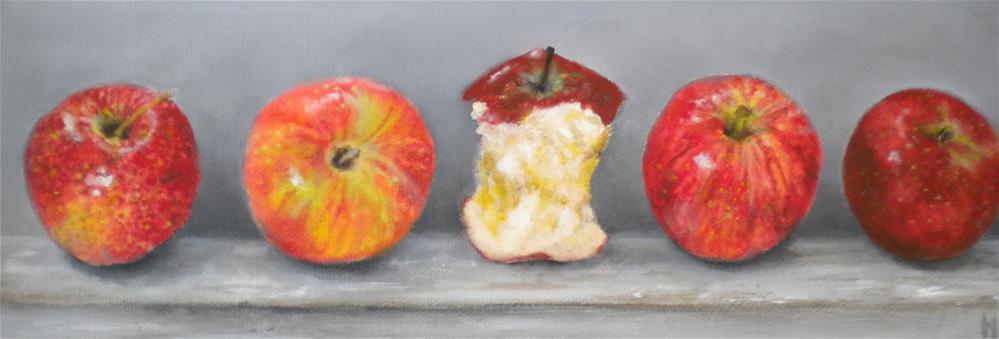 """It was delicious"" original fine art by Hilarie Johnson"