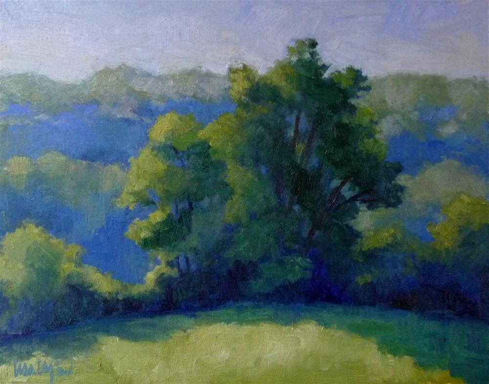 """Morning Light, Spring"" original fine art by Lisa Kyle"