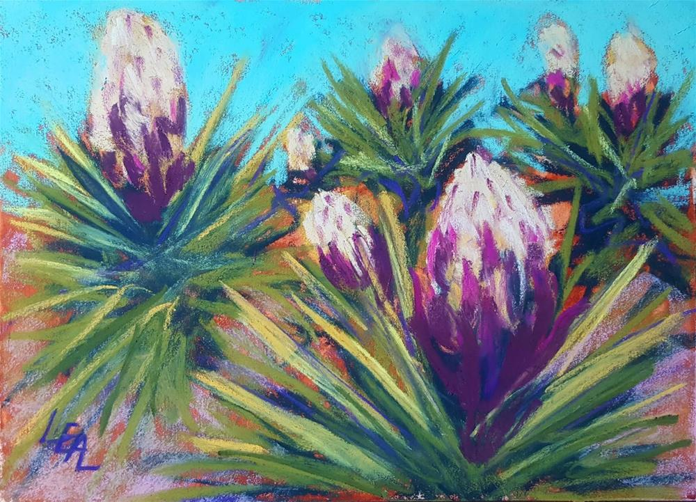 """Yucca Promise"" original fine art by Anna Lisa Leal"