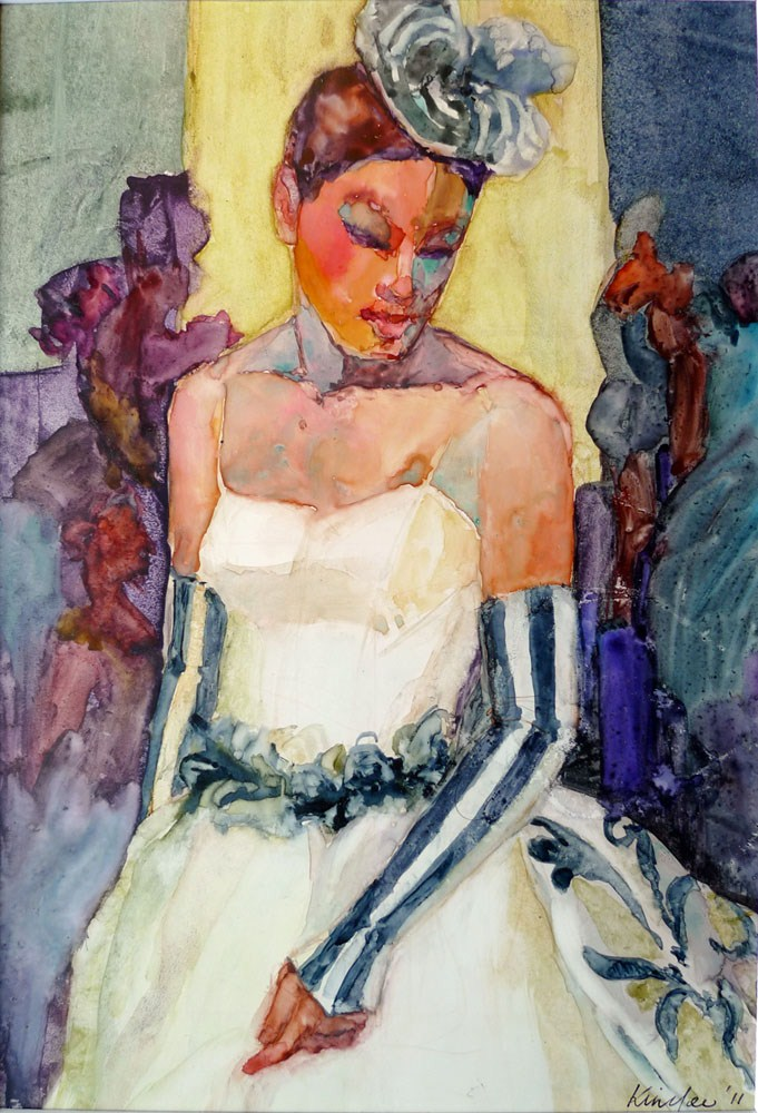 """'Estrella'"" original fine art by Myriam Kin-Yee"