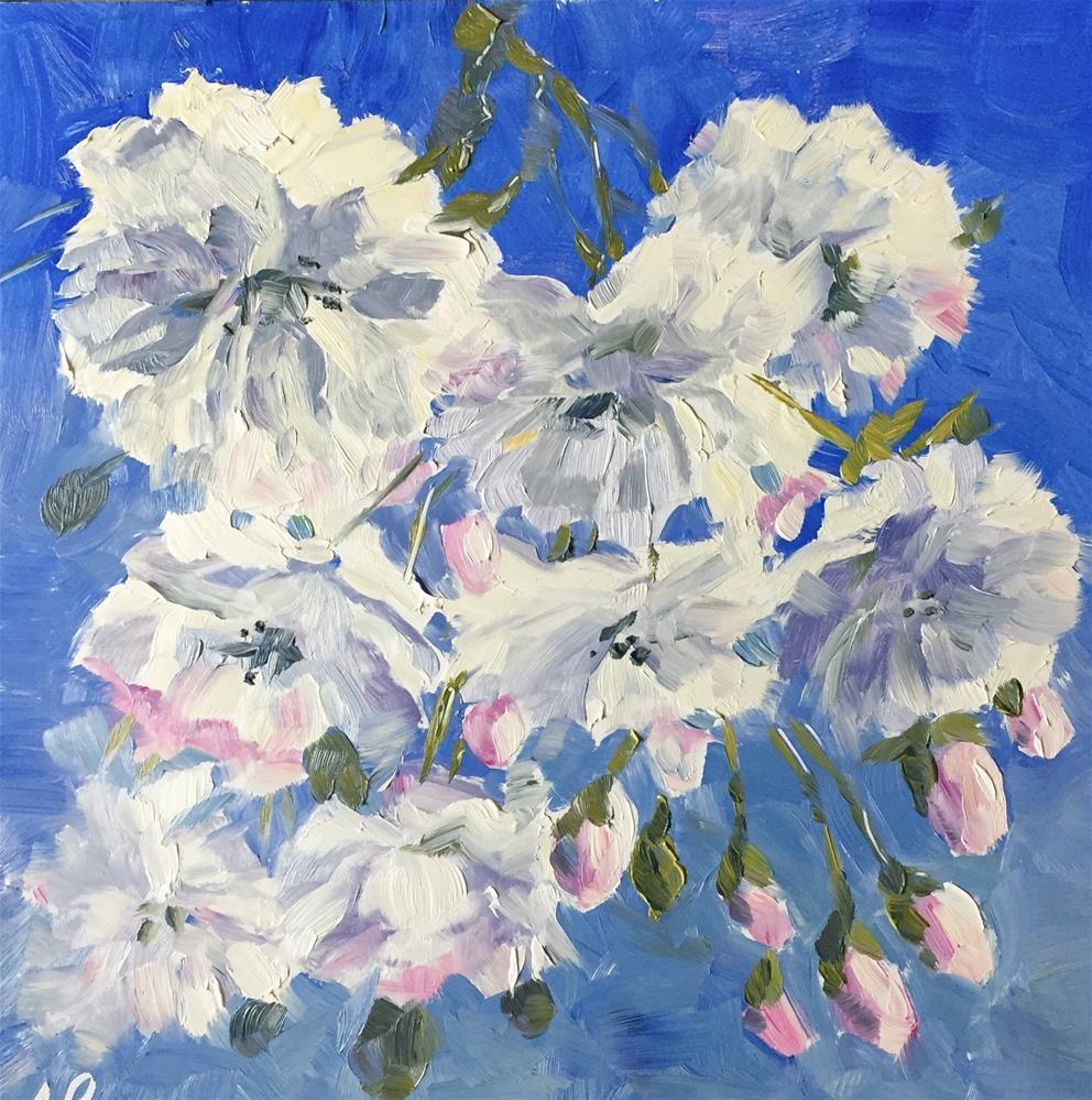 """Blooms"" original fine art by Natasha Ramras"