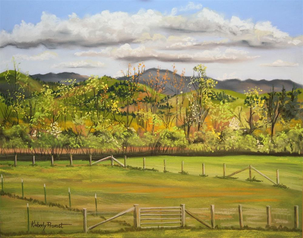 """Mount Ellen"" original fine art by Kimberly Provost"