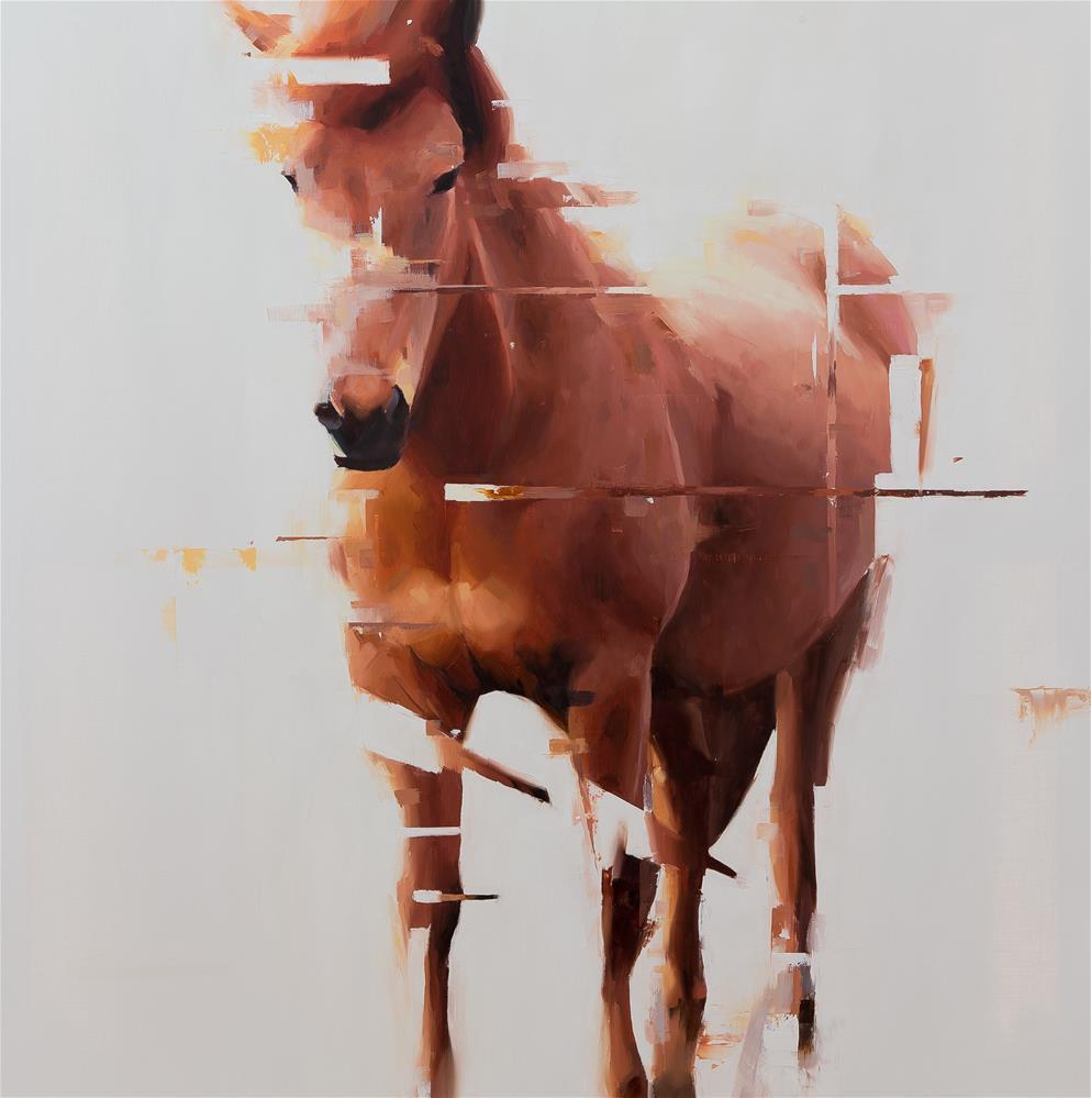 """""""Icelandic horse 3"""" original fine art by Thorgrimur Andri Einarsson"""