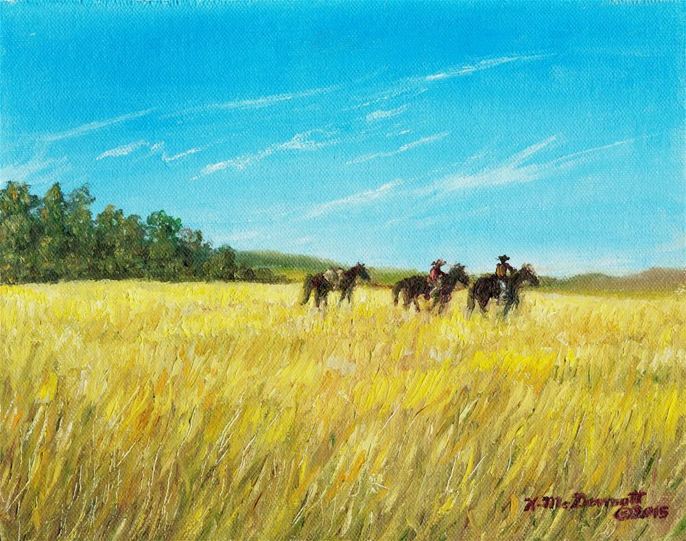 """Prairie Journey"" original fine art by Kathleen McDermott"