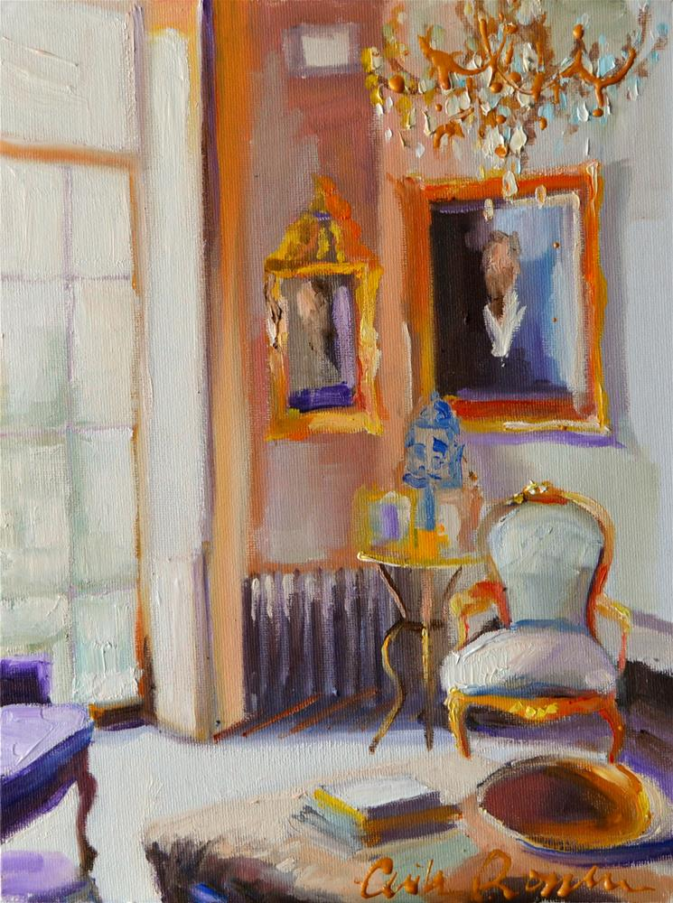 """FRANSE VOORHUIS"" original fine art by Cecilia Rosslee"