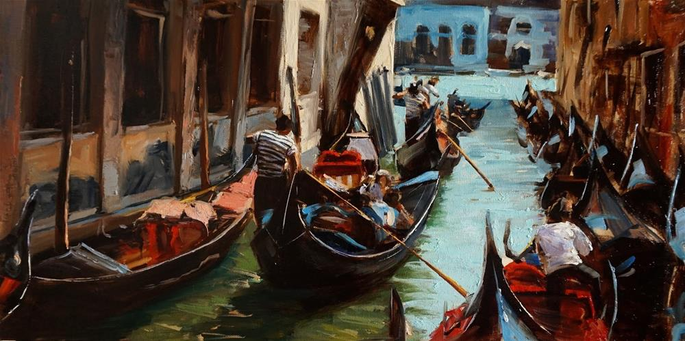 """Venetian Tour III"" original fine art by Jonelle Summerfield"