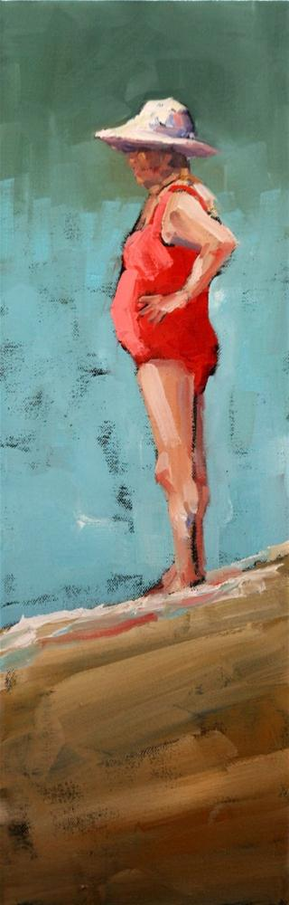"""ruby"" original fine art by Carol Carmichael"