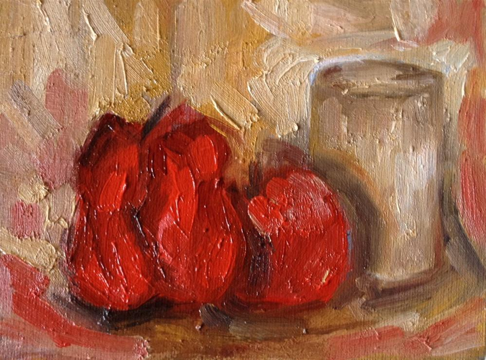 """Red Pepper"" original fine art by Monica Pinotti"