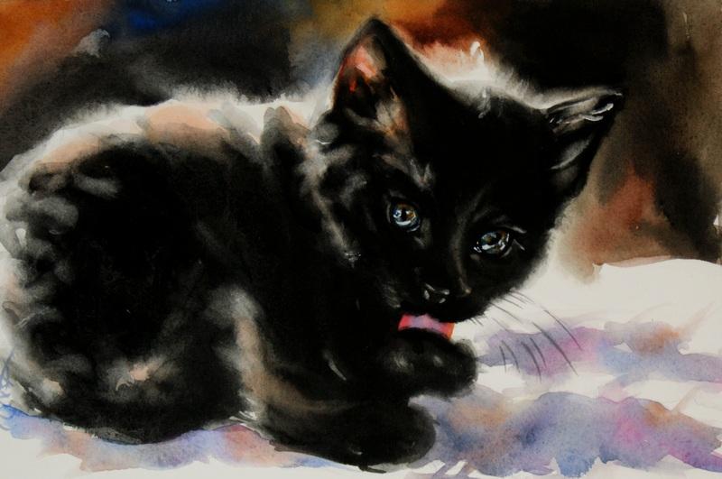 """Safekeeping"" original fine art by Crystal Cook"
