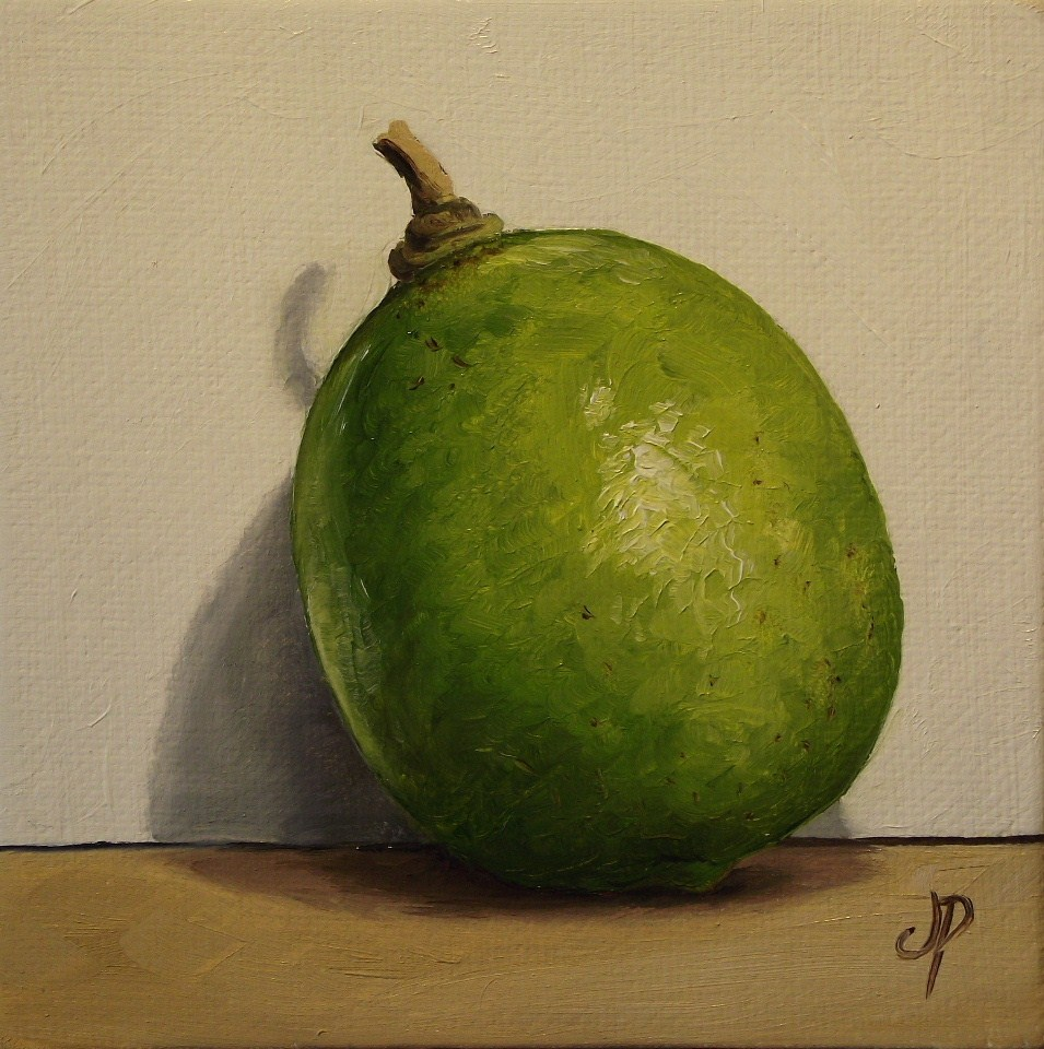"""lime"" original fine art by Jane Palmer"