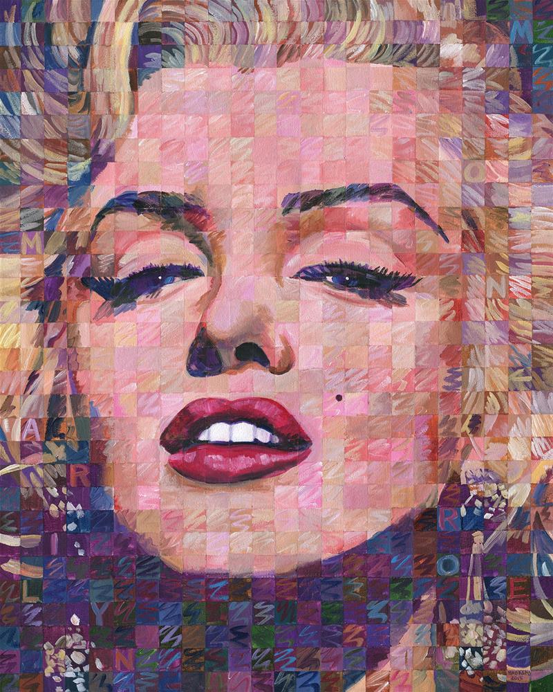 """Marilyn Monroe 2015.03"" original fine art by Randal Huiskens"