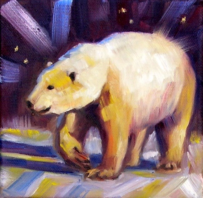 """Ursa Major"" original fine art by Irina Beskina"