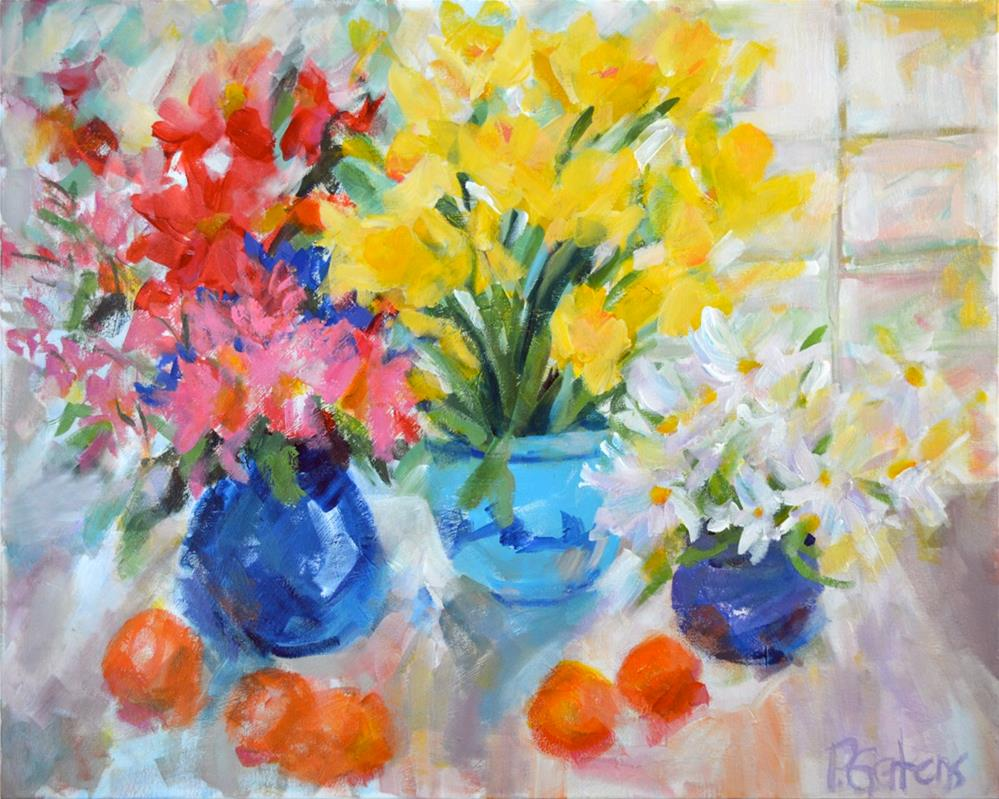 """Sunny Still Life"" original fine art by Pamela Gatens"