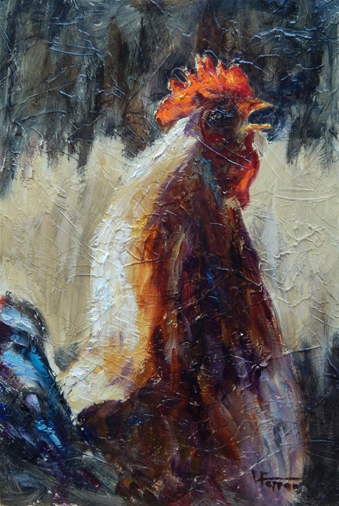 """Cool Morning Light"" original fine art by Lina Ferrara"