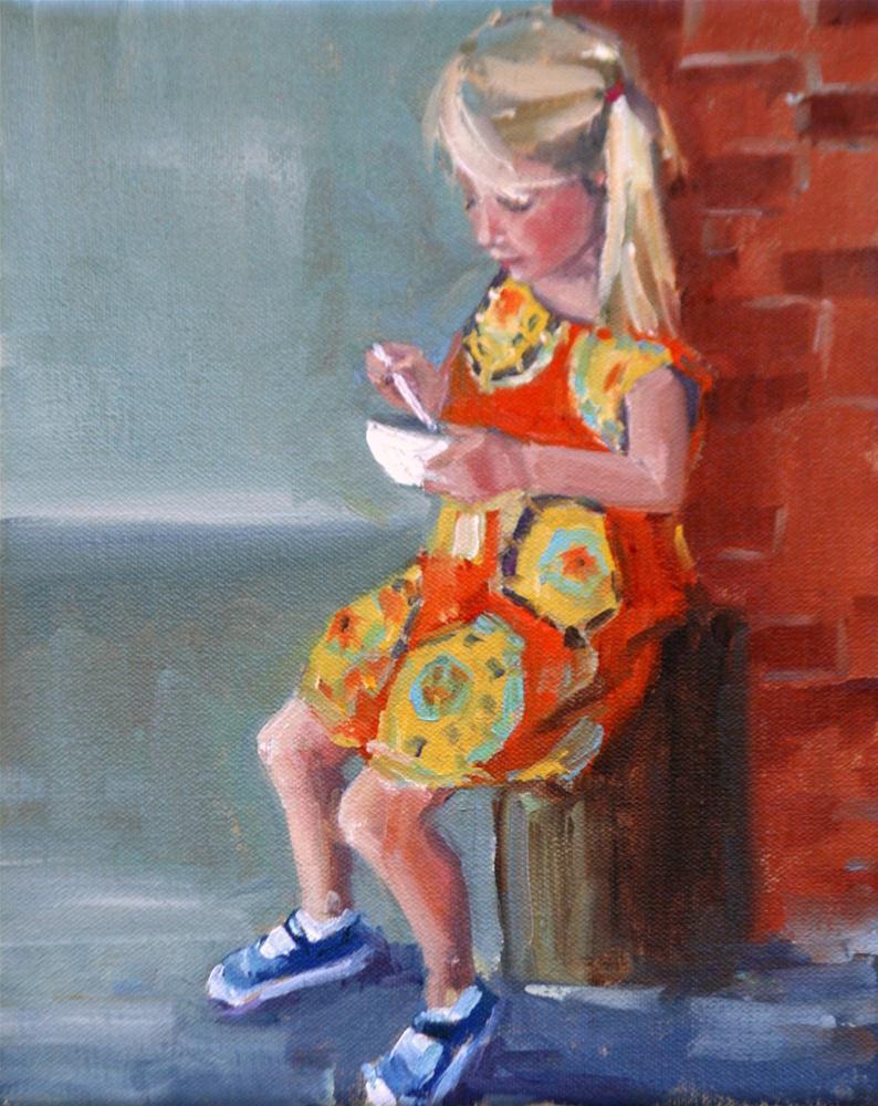 """annie rose"" original fine art by Carol Carmichael"
