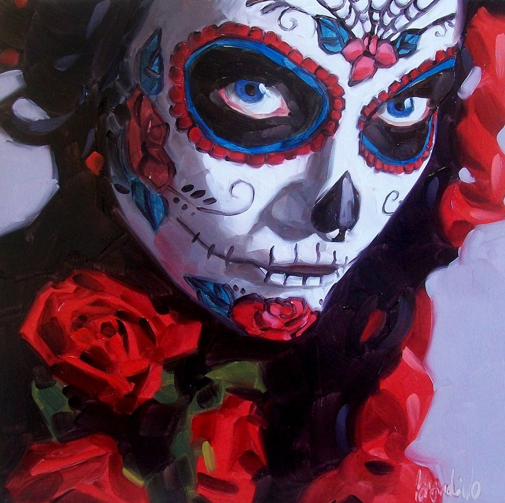 """Rose"" original fine art by Brandi Bowman"