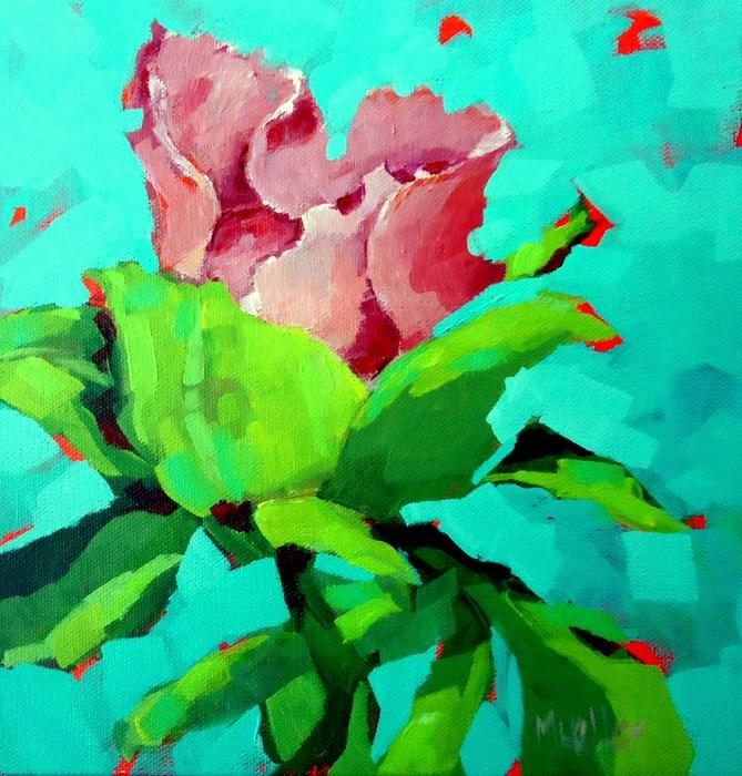"""Jitterbug"" original fine art by Laurie Mueller"