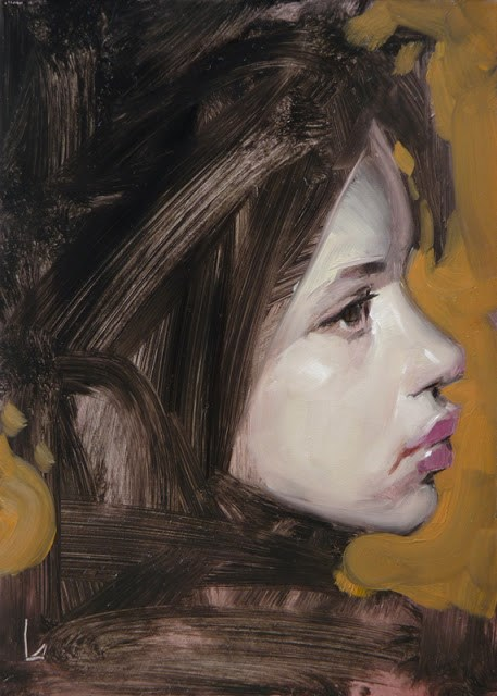 """Smudge"" original fine art by John Larriva"