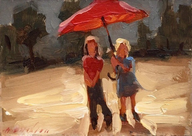 """No. 13, Sisters"" original fine art by Aimee Erickson"