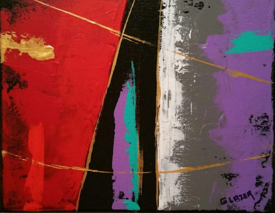"""Journey"" original fine art by Stuart Glazer"