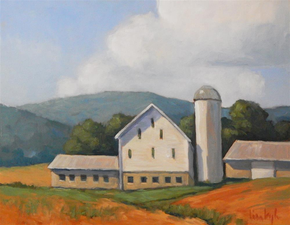 """Pennsylvania Beauty"" original fine art by Lisa Kyle"