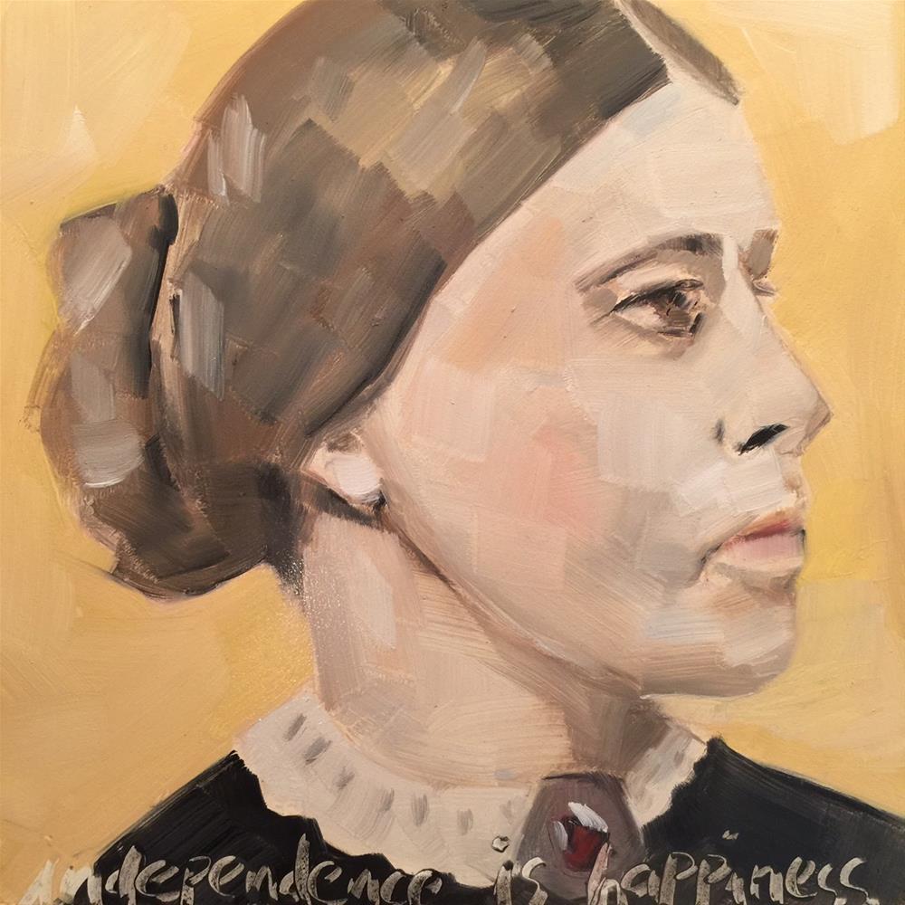 """405 Independent Susan"" original fine art by Jenny Doh"