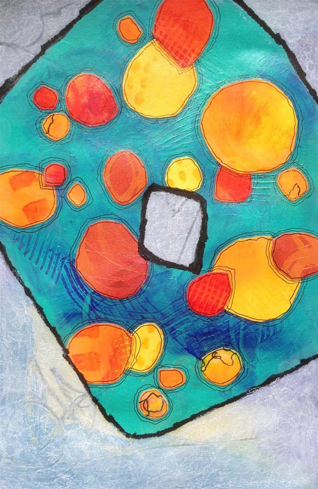 """Shapes, Day 4"" original fine art by Dotty  Seiter"