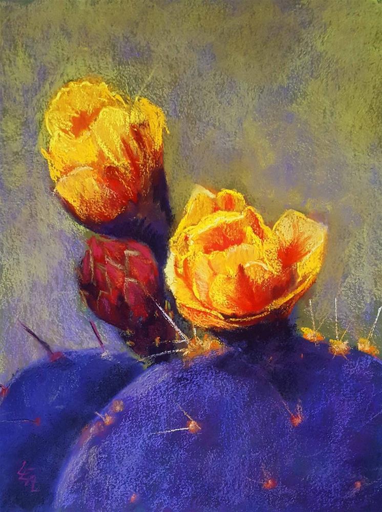 """El Dorado Morado"" original fine art by Anna Lisa Leal"