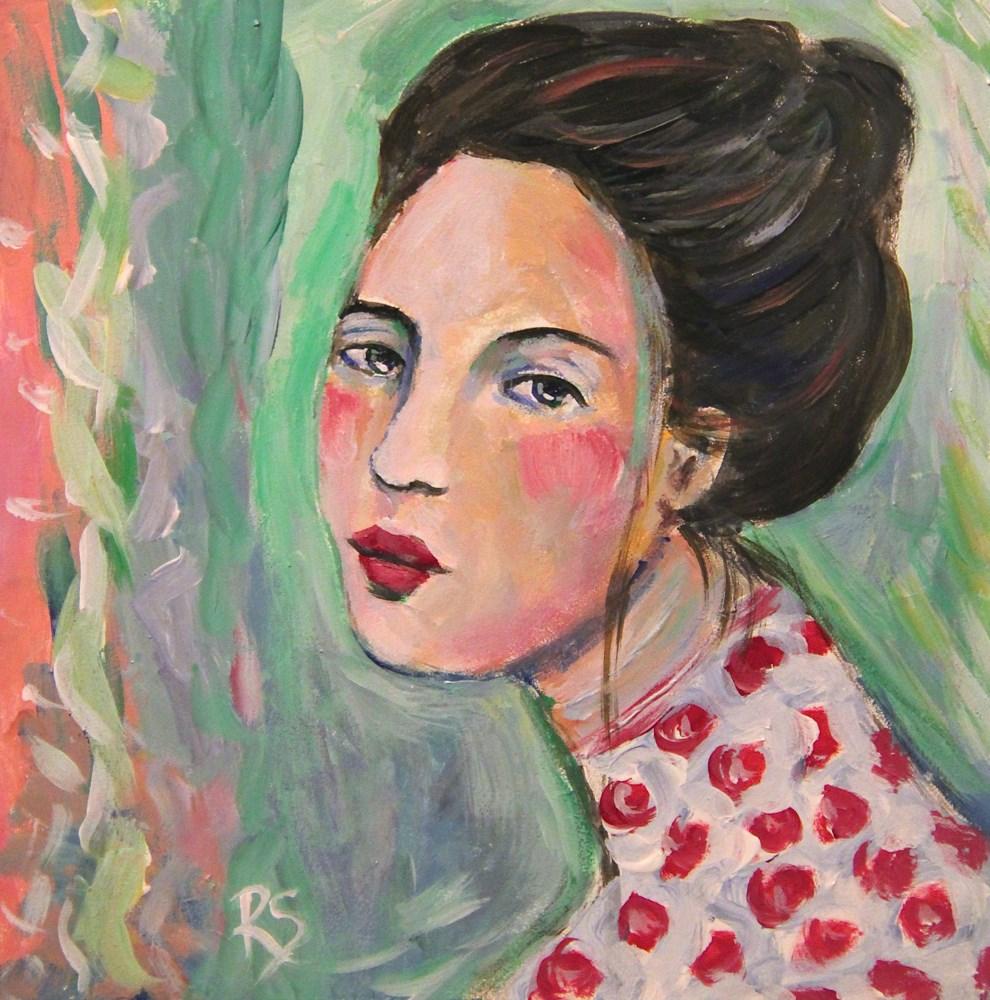 """""""Lizelle"""" original fine art by Roberta Schmidt"""