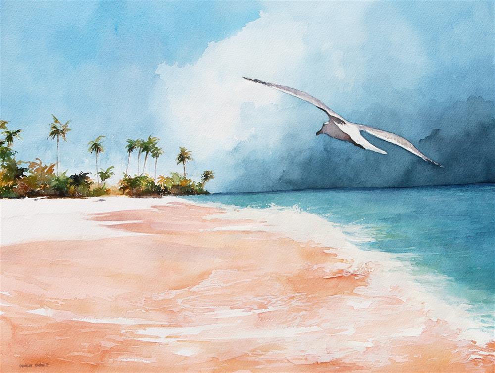 """ BERMUDA "" original fine art by Dwight Smith"