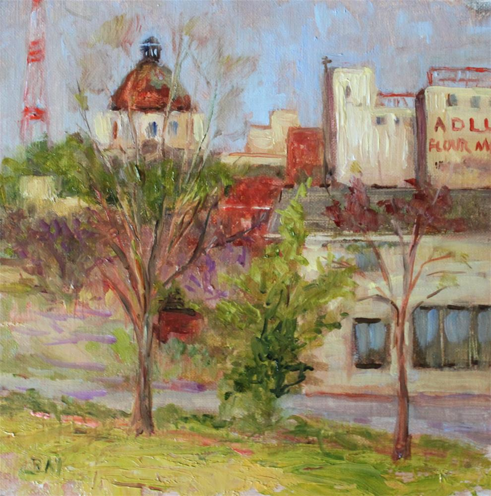 """COLUMBIA, SC"" original fine art by barbara yongue"