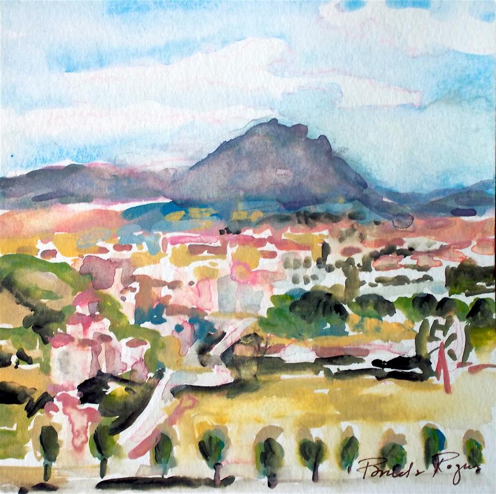 """Heraklion Crete"" original fine art by Pamela Jane Rogers"